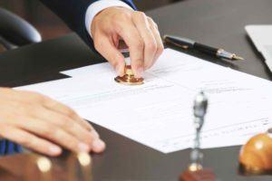 Anwalt besiegelt Vorsorgevollmacht