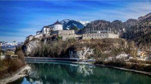 Blick auf Burg in Kufstein
