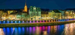 Blick auf Stadt Villach - Anwälte für Vertragsrecht in Villach