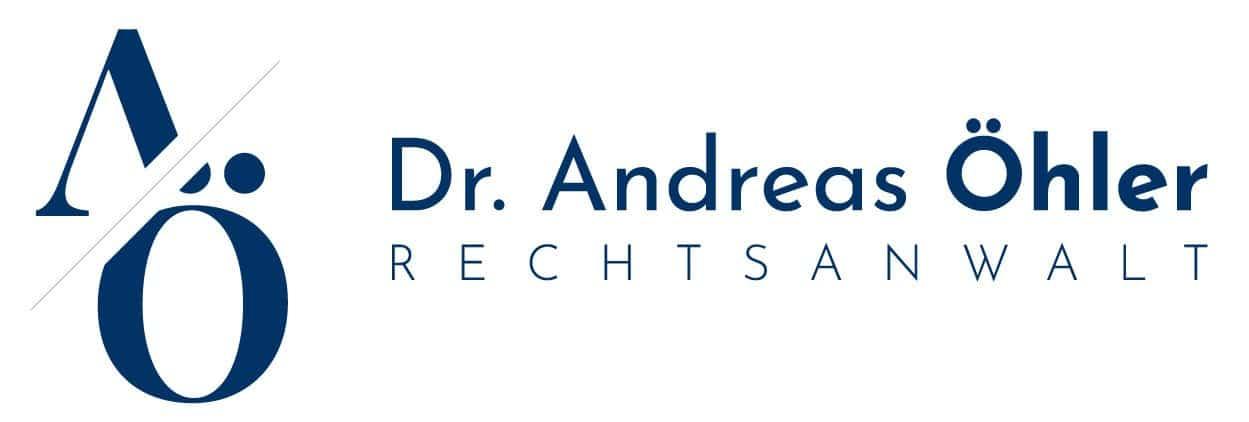 Rechtsanwalt Dr. Andreas Oehler- Logo