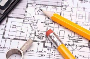 Architektenvertrag liegt am Tisch