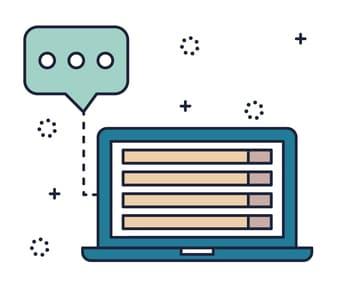 Digitale Kommunikation Icon